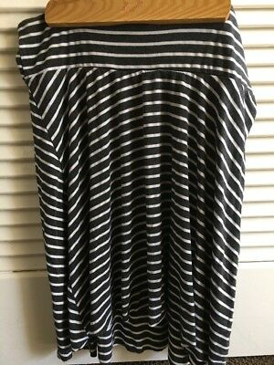A Pea On The Pod Maternity Striped Skirt