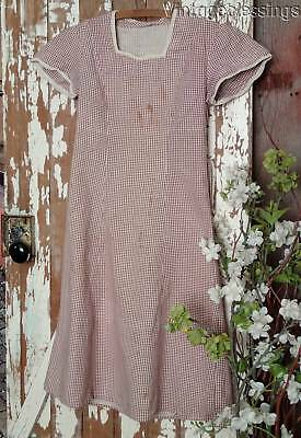 Vintage 1930s Great Depression Girls Dress
