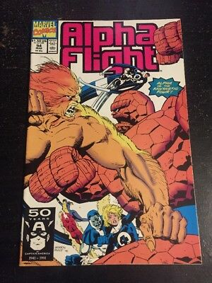 Alpha Flight#94 Incredible Condition 9.4(1991) Vs Fantastic Four!!