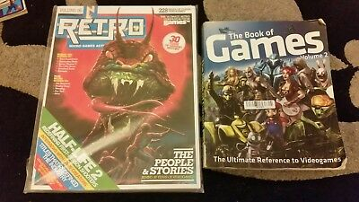 GamesTM Retro Volume 6 Bookazine gamer magazine + the book of games volume 2