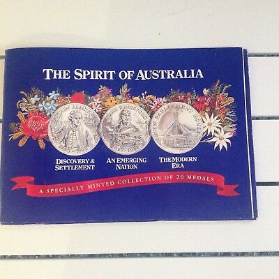 The Spirit Of Australia A Speciality Minted Collection Of 20 Medals