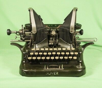 Vintage Oliver N° 6 Ancient Typewriter made around 1910 - Working!