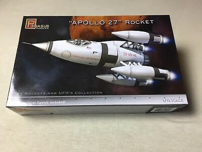 Pegasus Modellbausatz 1:72 Apollo 27 Rocket Rakete Kit