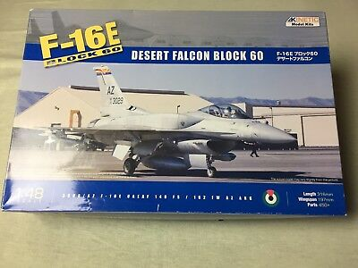 Kinetic Model Kits Modellbausatz F-16E Block 60 Desert Falcon 1:48 Düsenjet