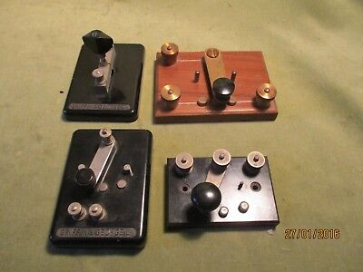 Selection Of 4 Vintage Switches By Griffin & George Etc