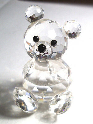 SWAROVSKI CRYSTAL  SMALL BEAR  7637 054 000 Boxed  RETIRED