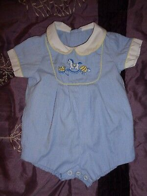 Vintage baby outfit, Jayne Copeland? 0-3 months? Bubble, Romper