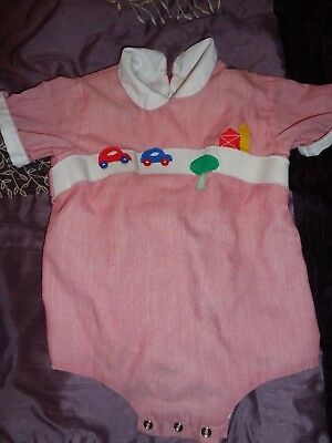 Vintage baby outfit, Jayne Copeland, 3-6 months, Bubble, Romper