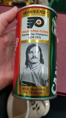 Philadelphia Flyers Canada Dry Ginger Ale Collectors Can