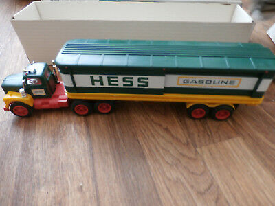 1976 Hess Truck New in Box with 3 Labeled Barrels