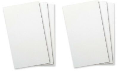 #8074- WELLSPRING Refill Pads White Plain No Lines for FLIP NOTE CASE - 6 pads