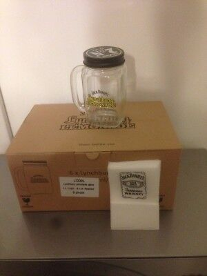 lot de 6 verres  mugs  JACK  DANIEL'S  LYNCHBURG  LEMONADE + 20 Serviettes