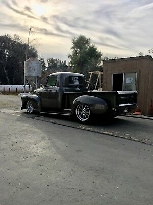 1952 Chevrolet Other Pickups  1952 Chevrolet three window pick up truck hot rod