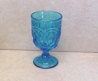 Moon & Stars Colonial Blue w/Gold Lettering 50th Anniversary Goblet~ 1962-2012