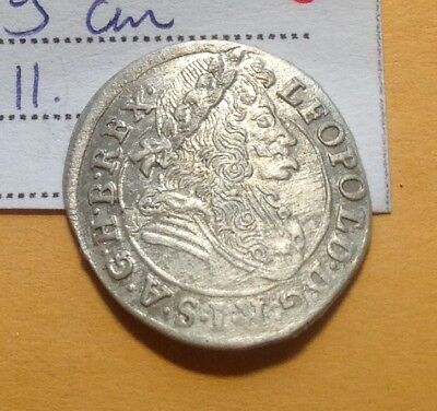 1696AD Medieval Silver Coin Choice