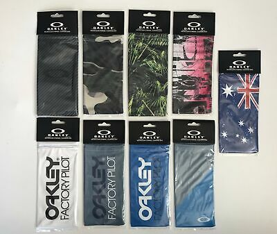 Oakley Microclear Storage / Cleaning Bag - Assorted Pattern - Pick Yours!