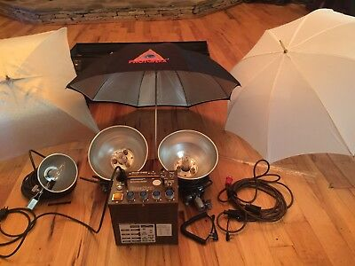 Speedotron Model D402 Lighting System Pack