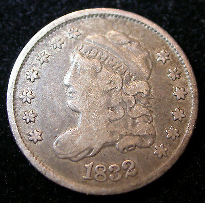 1832 Capped Bust Half Dime Fine Condition