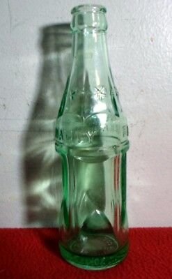 Rare Antique Embossed Aqua Green Quality Beverages Coca Cola Bottle Hammond, La