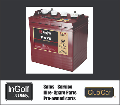 Club Car Single 48v Battery Trojan