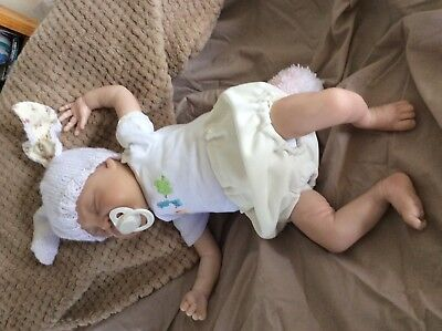 Reborn hand painted doll