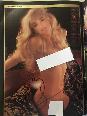 Jenny Mc Carthy Autographed Playboy Magazine Pictorial in 50th Anniversary Issue