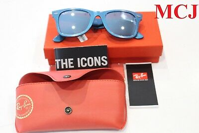 'New Never Used' Ray-Ban Wayfarer Mercury RB2140-6113/30 50/22 Sunglasses