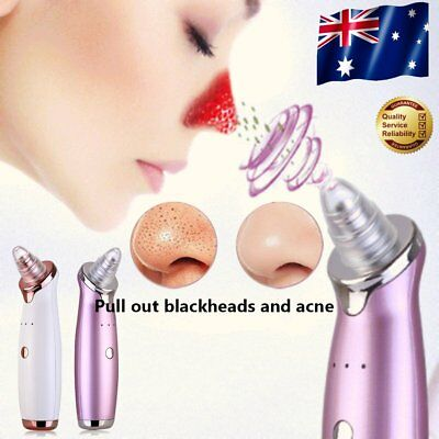 Blackhead Vacuum Acne Remover Electric Cleaner Pore Skin Facial Cleanser Tool A