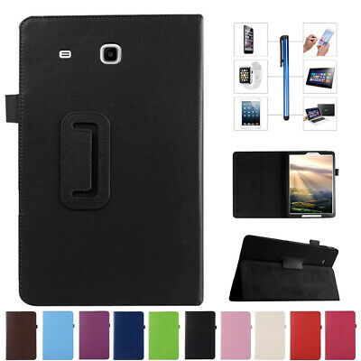 For Samsung Galaxy Tab A E S 7 8 8.4 9.7 10.1 Tablet PU Leather Stand Case Cover