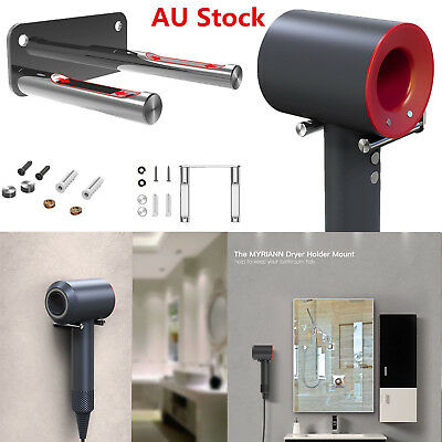 Hair Dryer Stainless Steel Wall Mount Holder Stand for Dyson Supersonic HD01