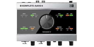 NEW Native Instruments KOMPLETE AUDIO 6 Audio Interface 6 in / 6 out From Japan