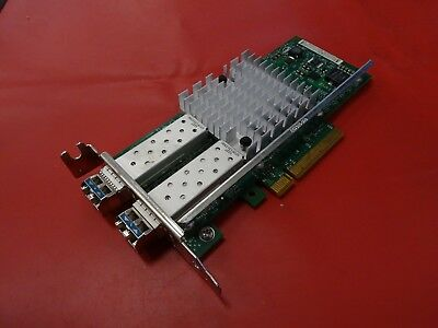 intel X520-DA2 2 Port 10Gbe Ethernet Adapter E10G42BTDAG1P5 L/PROF 2X 10G SFP