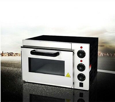 Commercial 2000W Multi-function Heating Stainless Steel Benchtop Electric Oven*