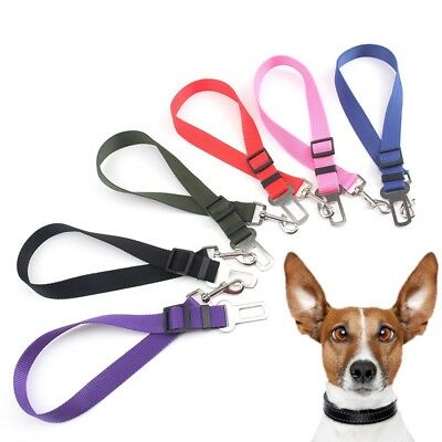 Adjustable Pet Dog Car Seat Belts Puppy Safety Pet Nylon Clip seasons Supplies