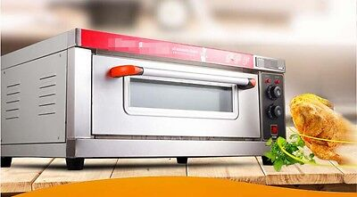 Silver Home Commercial Multi-function Baking Tool Benchtop Electric Oven #