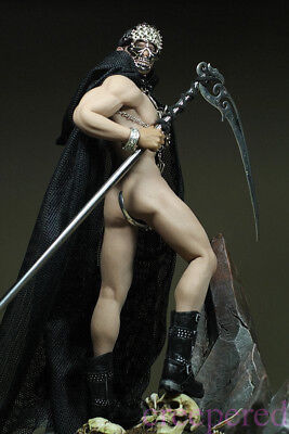 Phicen Steel Skeleton Male Death 1/6 Scale Only Clothes With Sickle Set No Body