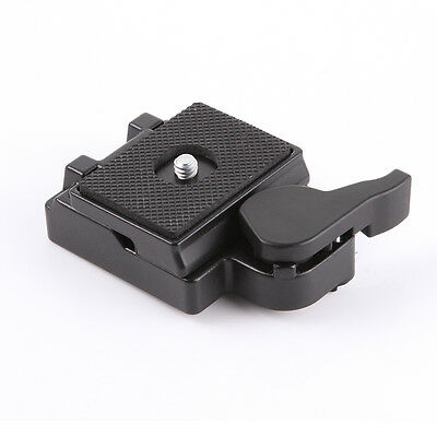 """US 1/4"""" Quick Release Clamp Adapter Plate for Manfrotto 200PL-14 323 RC2 System"""