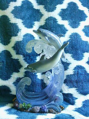 Dolphin Figurine Wave 2 Dolphins