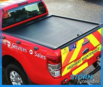Ford Ranger T6 2012 On Double Cab Utility Armadillo Roll Top Cover