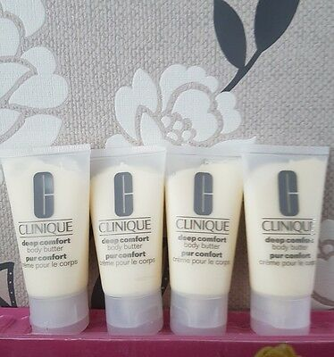 Clinique Deep Comfort Body Butter  - 200ml (4 x 50ml) Travel/Sample Size Tubes