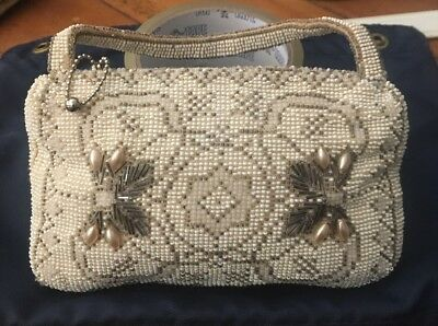 Made In Czechsslovakia Vintage 1930's Art Deco style hand purse