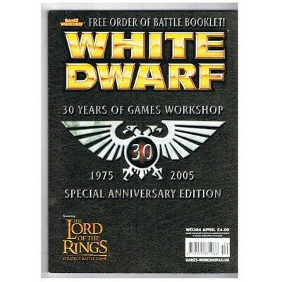White Dwarf Magazine No.304 April 2005 MBox2896/A  30 Years of games workshop 19