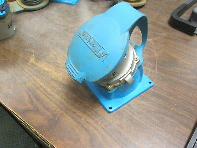 Meltric DS100 Inlet 37-98143 100A 600V Type 3R Used
