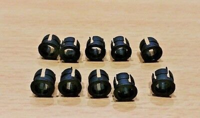 10 PACK - 5mm Plastic LED Panel Mounting Clips