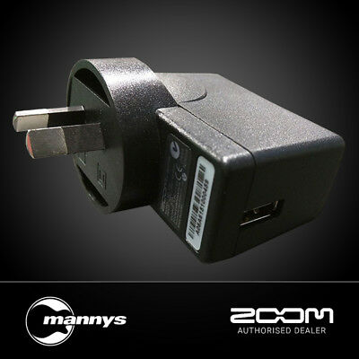 Zoom AD17 DC5V USB AC Adapter for H1, H2n, H5, H6, R8, Q2HD, Q4 or Q8
