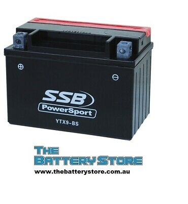 12V BATTERY YTX9-BS GTX9-BS CTX9-BS YTX9-BS AGM 8AH 150CCA Motorcycle Battery