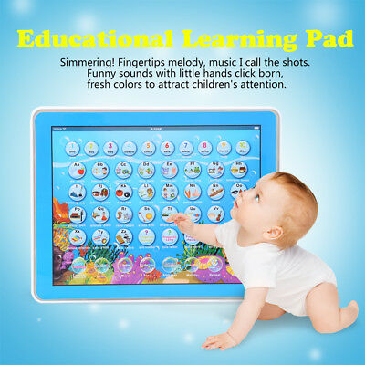 Baby Tablet Educational Toy For 1 2 Year Old Toddler Learning English/Spanish