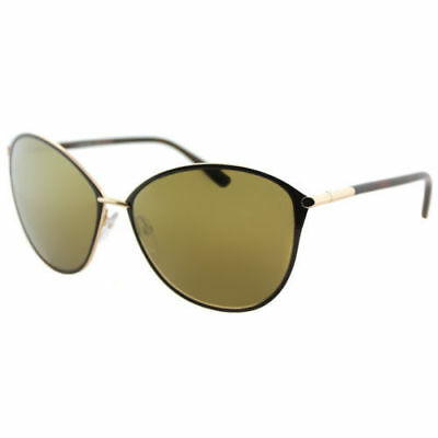 Tom Ford Penelope TF 320 TF0320 28G Brown Rose Gold Sunglasses Gold Mirror Lens