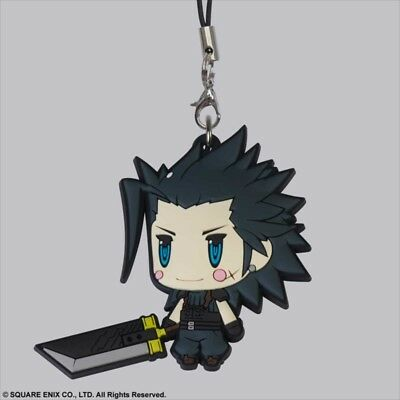 Square Enix Trading Rubber Strap Vol. 6 Cellphone Charm Final Fantasy VII 7 Zack