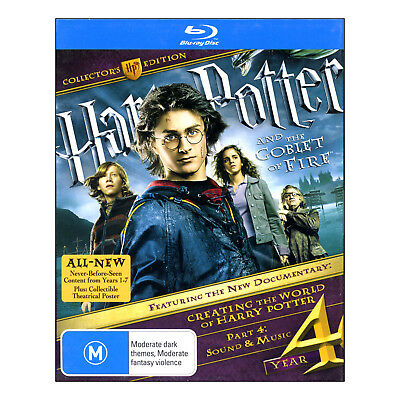 Harry Potter and the Goblet Of Fire Collectors Edition Blu-ray New 2 Disc Set